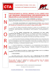 PREGUNTAMOS A SETEX APARKI O.R.A JEREZ POR LAS MEDIDAS PREVENTIVAS IMPLEMENTADAS EN RELACIÓN A LOS