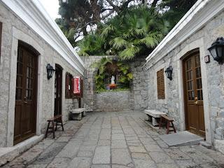 Barracones de la fortaleza del monte de Macao