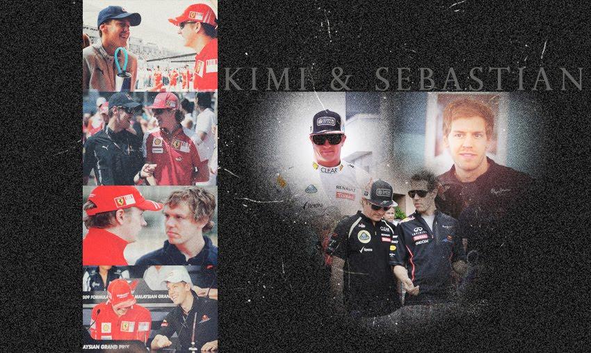 Kimi Räikkönen és Sebastian Vettel