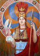 Atenea, Diosa de la sabiduría, estratega e hija del padre.