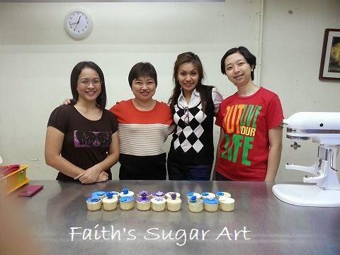Hantaran Cupcakes Class 8 Feb 2014