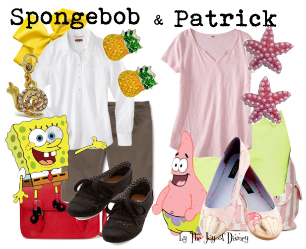 Spongebob and Patrick Outfits