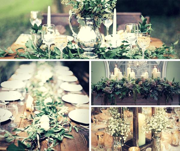 Сватба в зелен цвят