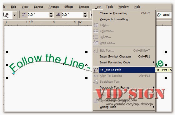 How to Learn Text Tool Using CorelDRAW