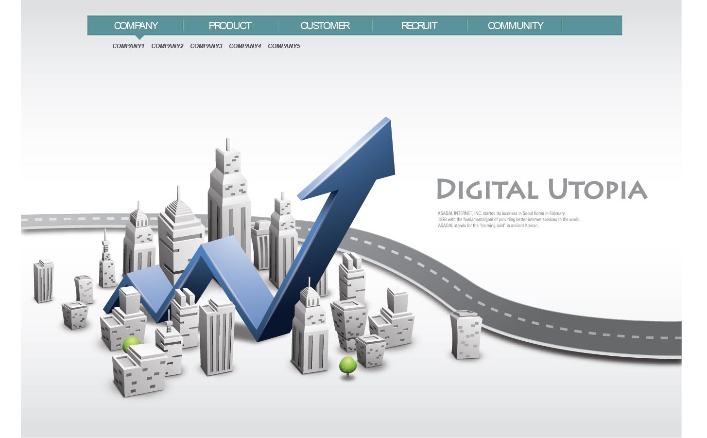ネットワークを表現した背景 business network design background  イラスト素材