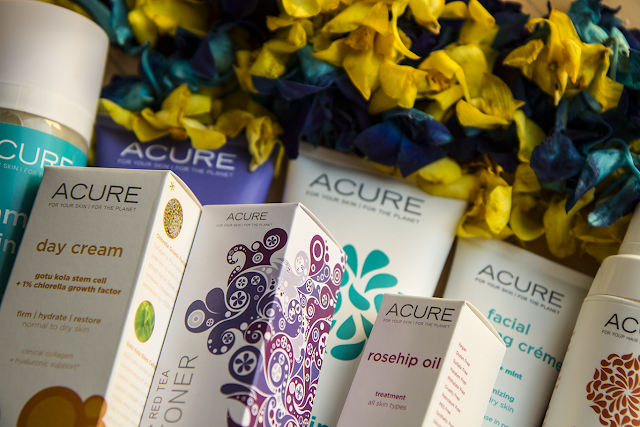 Photo of Acure Organics products
