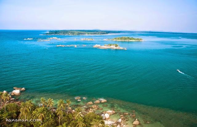 pulau putri dari pantai penyusuk belinyu bangka