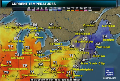 >Heat Continues From Central Plains To Interior East, Storms Fire Over TN/OH Valley