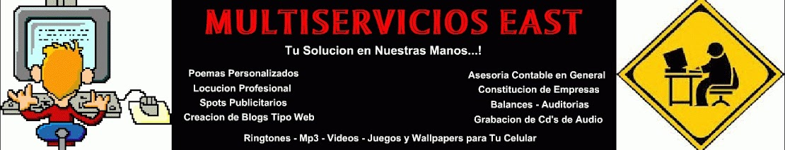 MULTISERVICIOS  EAST
