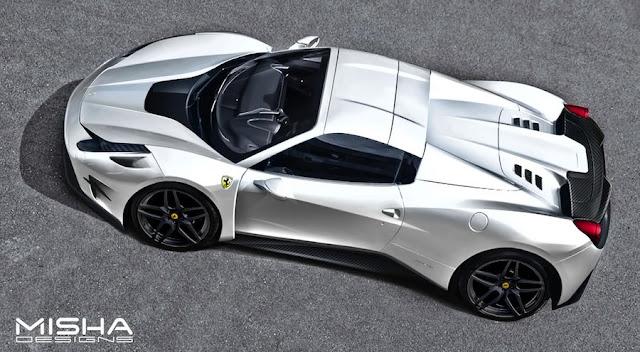米国の「ミーシャデザイン」がフェラーリ458イタリアをFXX Kっぽくカスタム。
