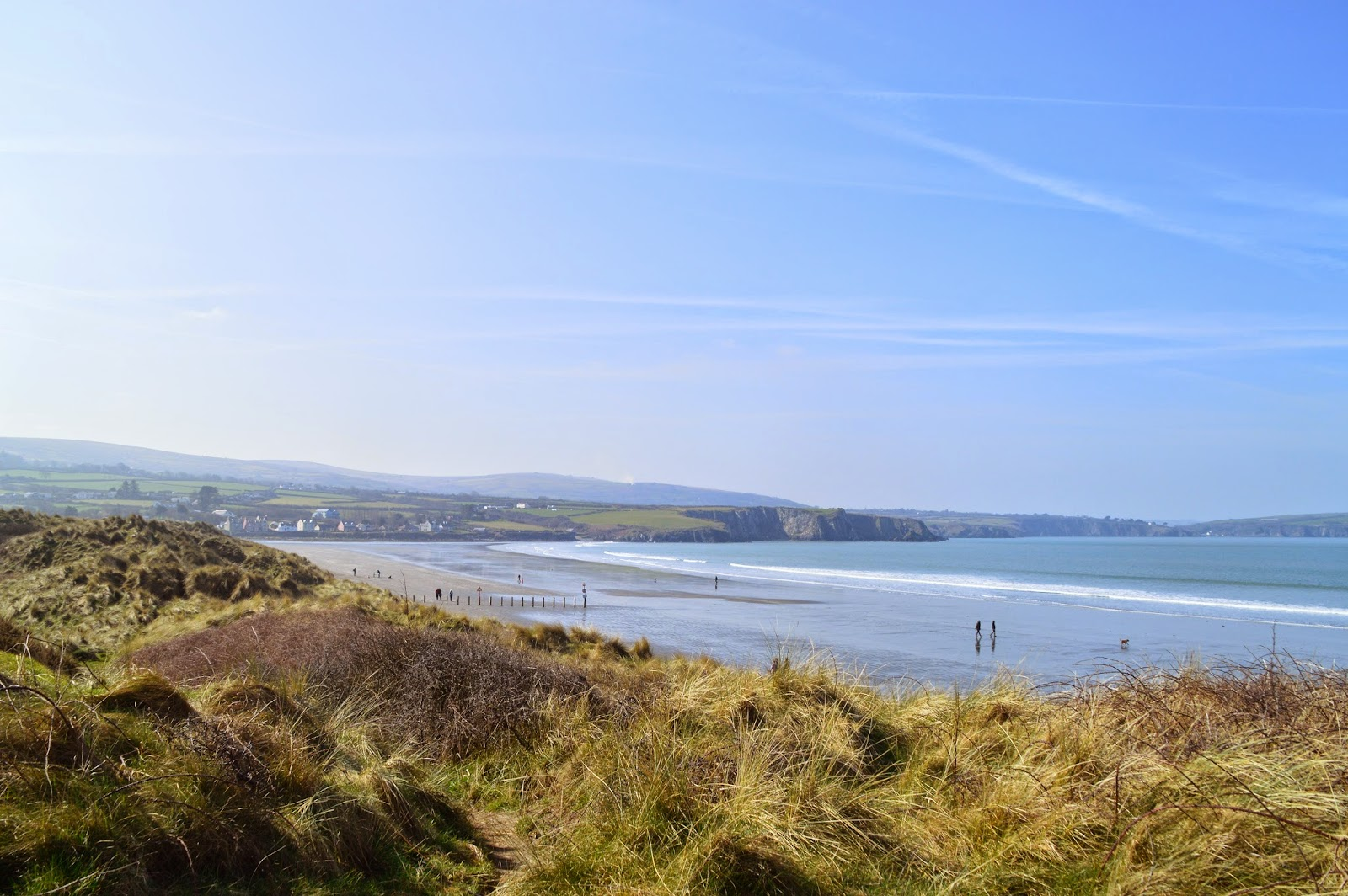 Newport Sands, Pembrokeshire, Wales, UK, Travel, Traeth Mawr, family fun