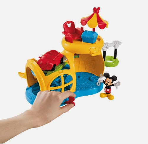 TOYS : JUGUETES - BEBE - Fisher Price Disney - Garaje de Mickey Disney