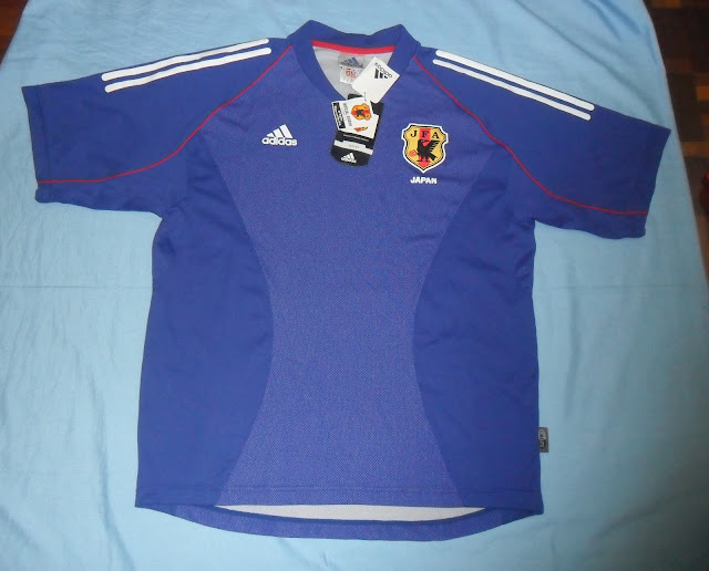 Authentic 2002 03 Japan national football team JFA jersey