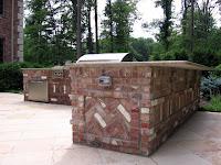 Brick Built In Bbq