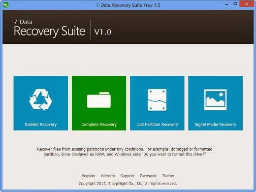 7 Data Recovery Suite Registration Code Full Version Free for 1 Year