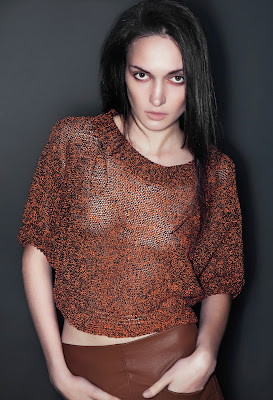Julia Nosova: test shoot by Alina Danilova