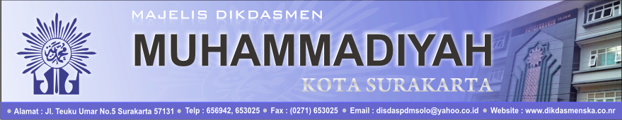 SD Muhammadiyah 16 Surakarta
