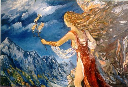 Resultado de imagen para diosa de la montaña