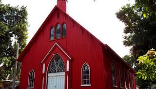 letak gereja merah probolinggo, sejarah gereja probolinggo