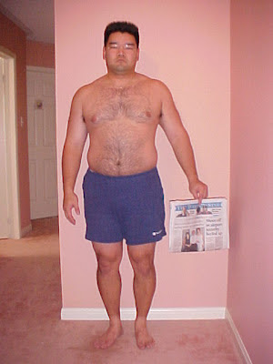 december 26, 2001, thought I was going to start getting in shape
