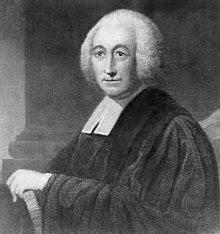 engraving of Henry Melchior Mühlenberg