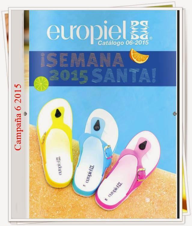 Nuevo Catalogo Europiel Campaña 6 2015