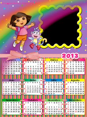 Moldura calendário 2013