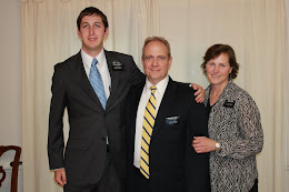 Elder Roberts with President and Sister Perry