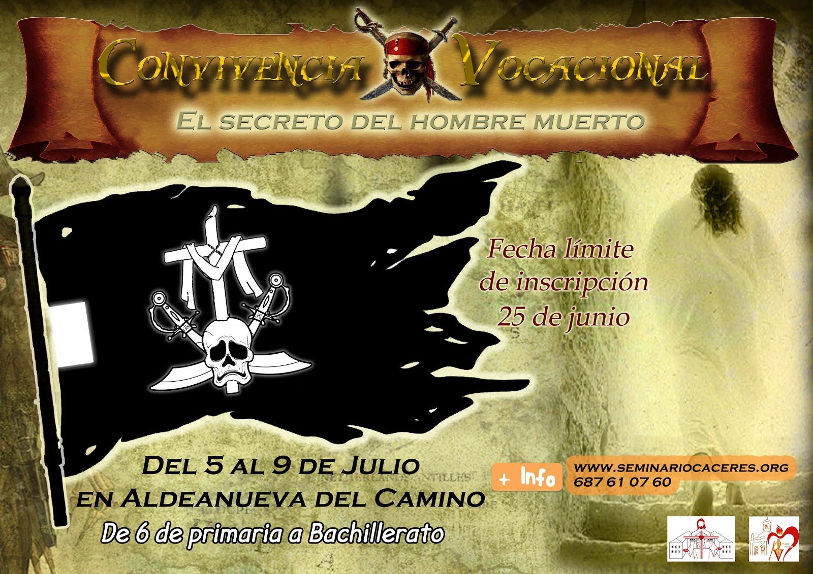 CONVIVENCIA VOCACIONAL DE VERANO