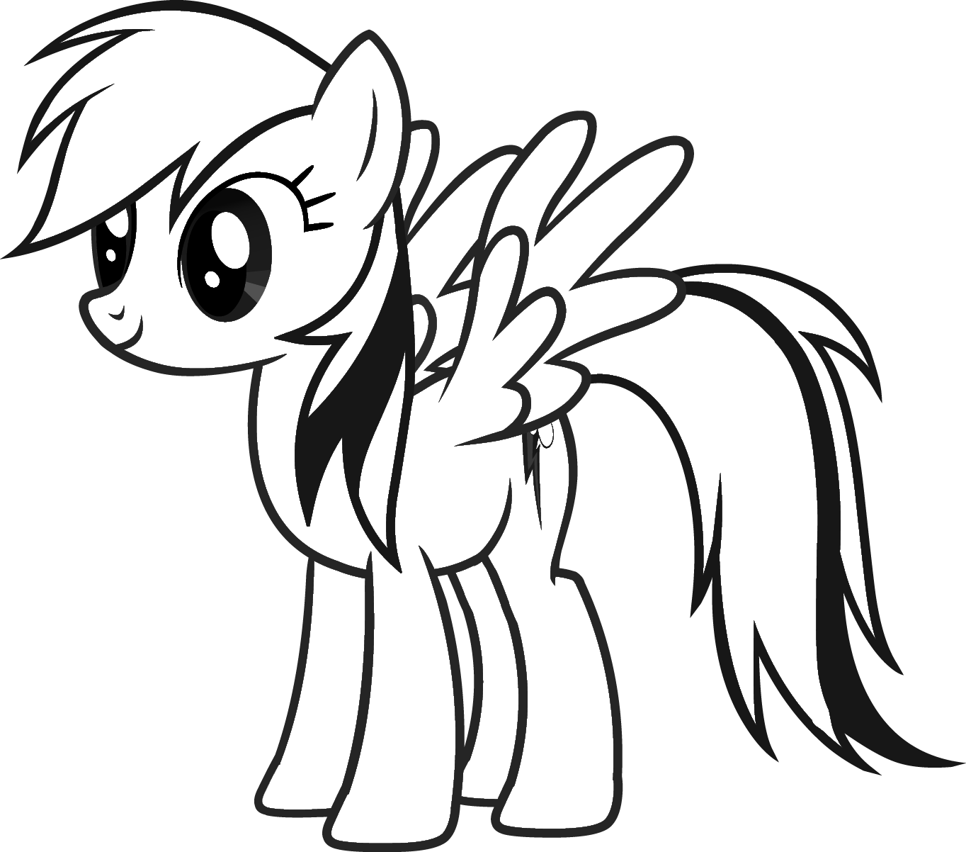 ... Drawing Free Wallpaper: My Little Pony Coloring Drawing Free wallpaper