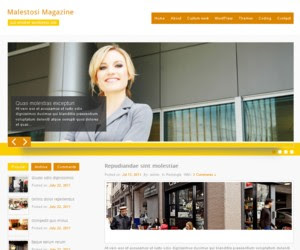 Malestosi Magazine WordPress Theme