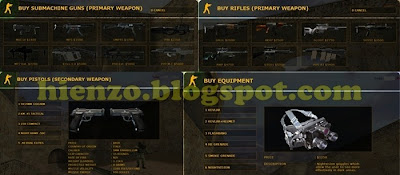 inventory counter strike 1.6 full
