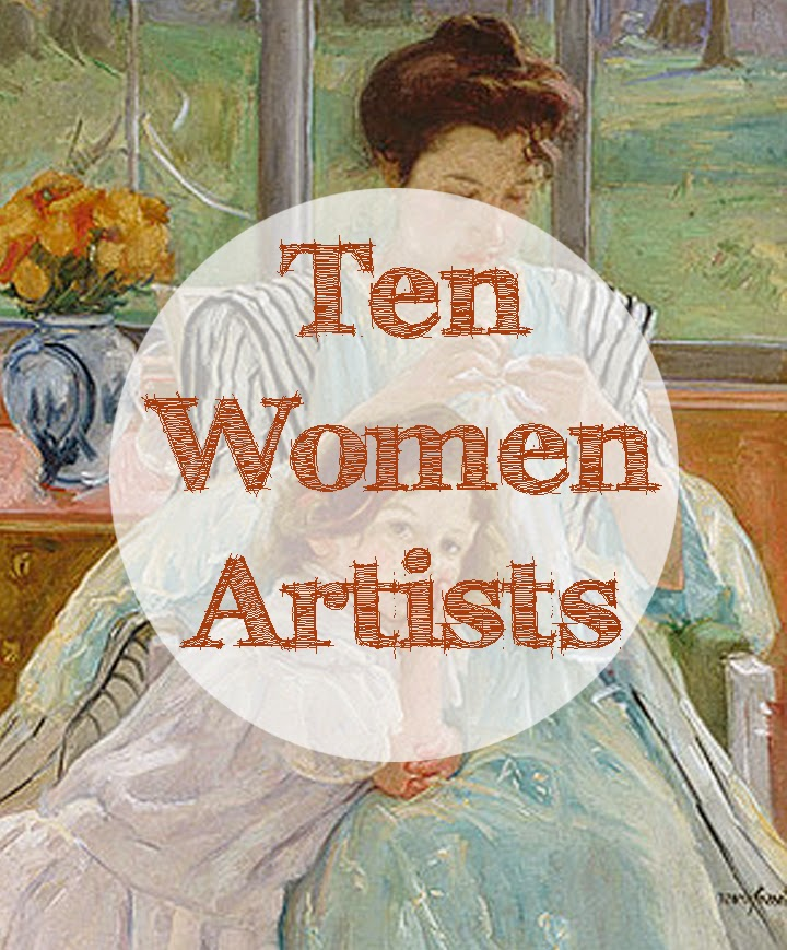 Female artists | Discover great women artists at http://schulmanart.blogspot.com/2011/06/ten-women-artists-every-young-girl.html