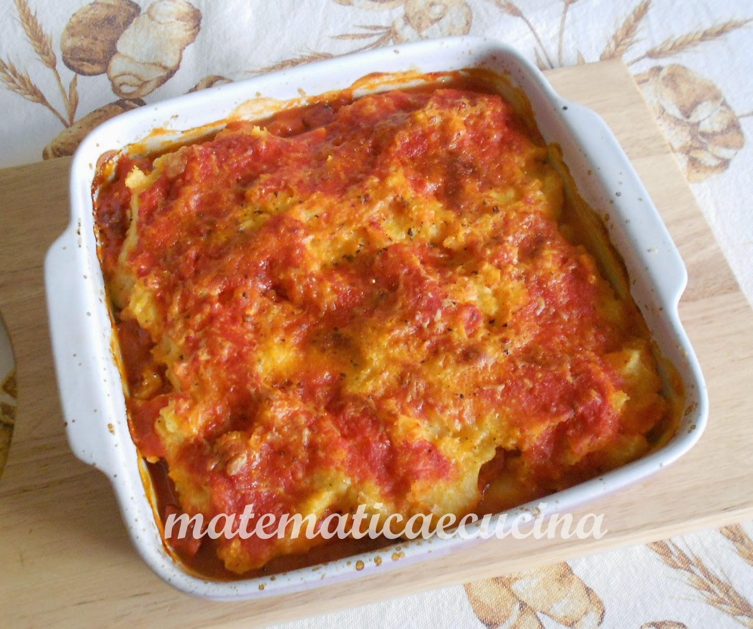 polenta con quartirolo e salame