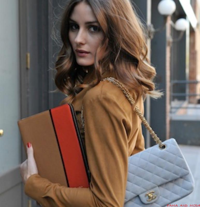 A estilosa Olivia Palermo apostou nas cores marrom e na estampa de oncinha,  eu gostei ! Ela colocou os créditos de suas peças, a blusa é Theory, ... c63dc1d6c3