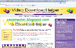 Cara Download Video dari Youtube dengan Downloadhelper Dot com