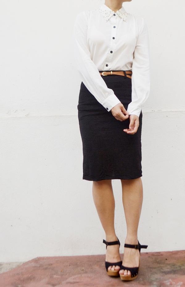 shop colorful pencil skirt