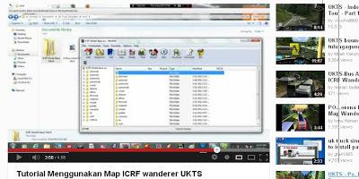 cara/tutorial memasang Map ICRF wanderer ukts indonesia
