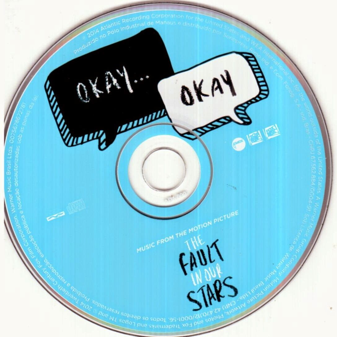 encartes pop encarte the fault in our stars music from