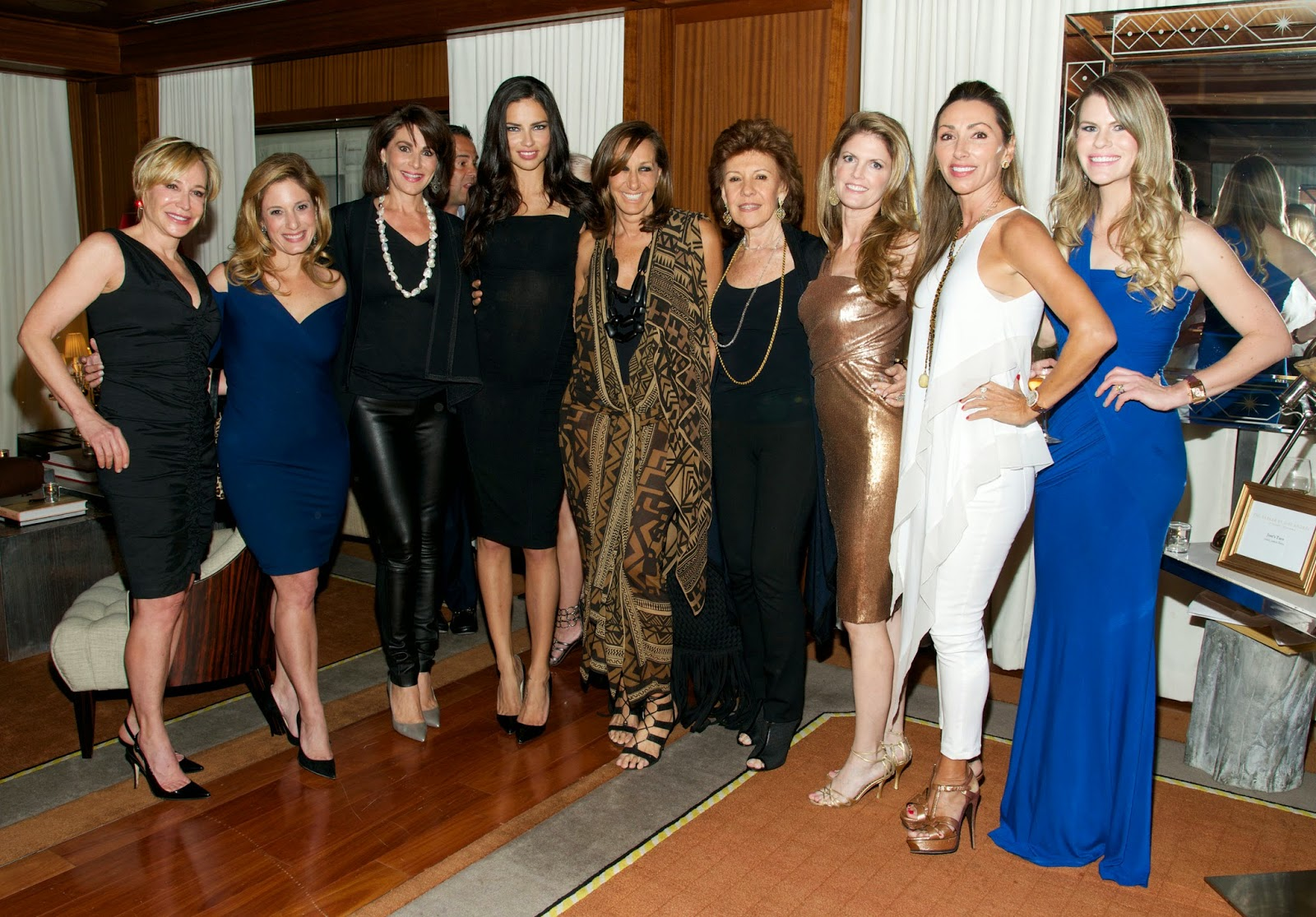 Donna Karan Fashion Show Co-Hosted by Women of Tomorrow