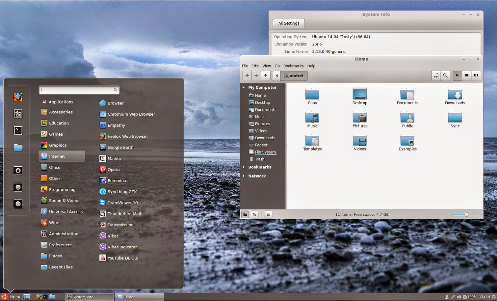 Cinnamon 2.4 no Ubuntu