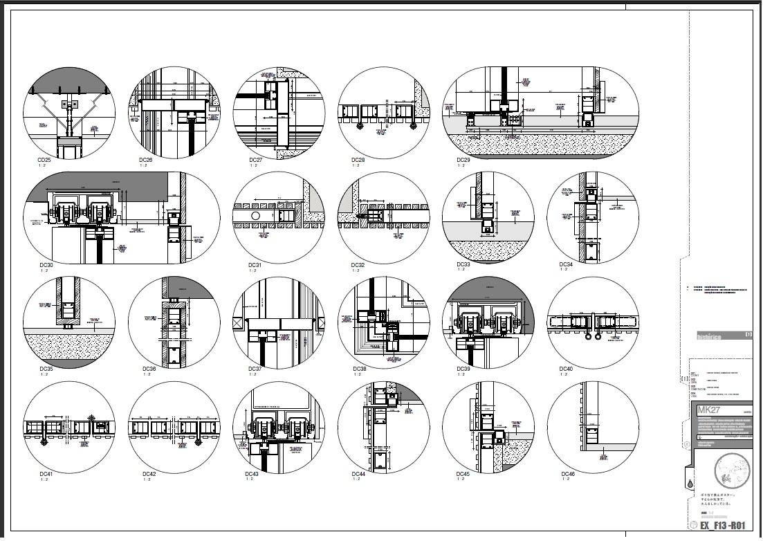 projeto executivo em revit arq flávia maritan projetos complementares #5C4F61 1103 782
