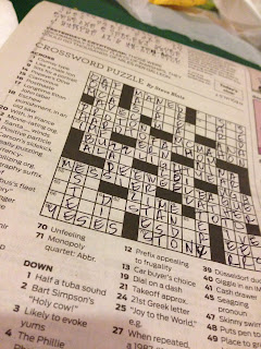 Mmm.. Crosswords