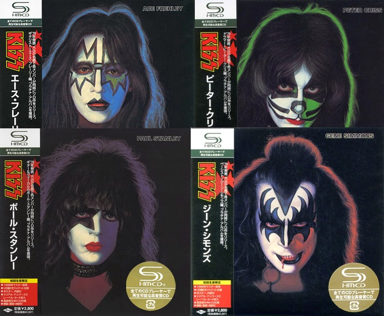 Kiss - Paul Stanley/Gene Simmons/Ace Frehley/Peter Criss (1978/2008, 4xSHM-CD)