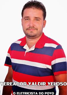 Vereador Valdir Veloso