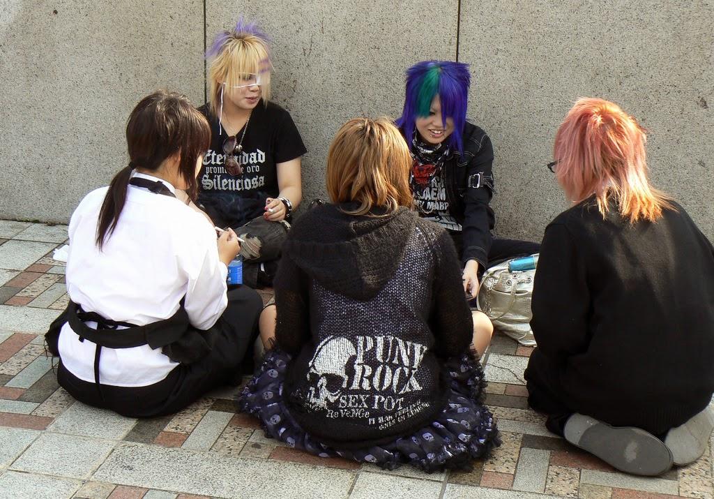 Punks en Harajuku