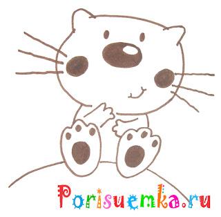 котенок рисунок