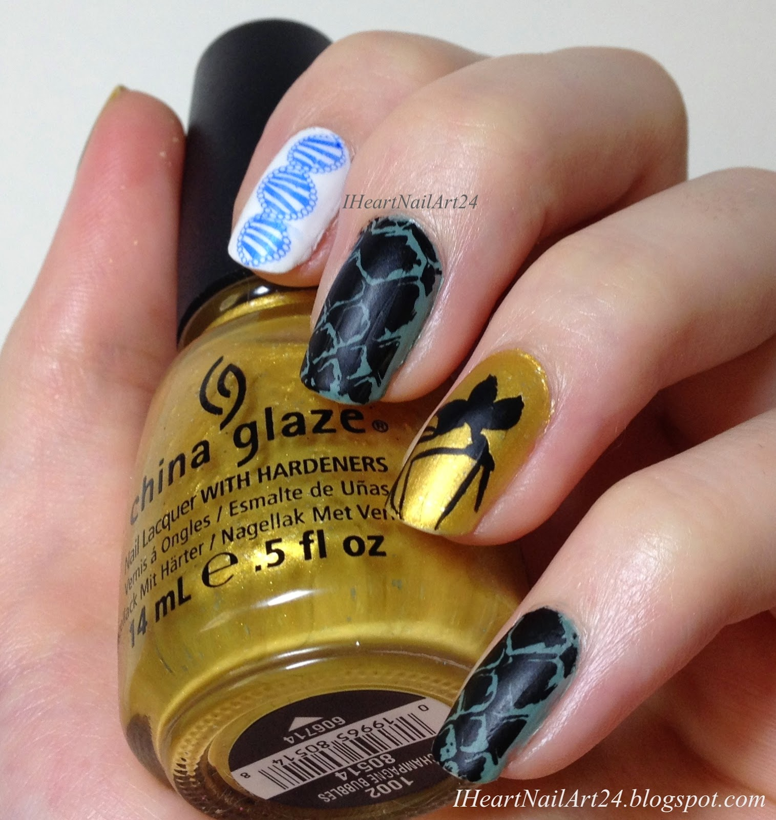 Welcome... to Jurassic Park!   I Heart Nail Art