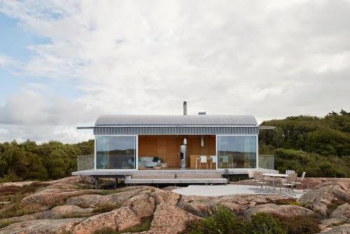 Summer Houses by Mats Fahlander