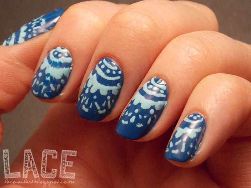 Lace A Nail Art Blog Super Cute Doily Nails